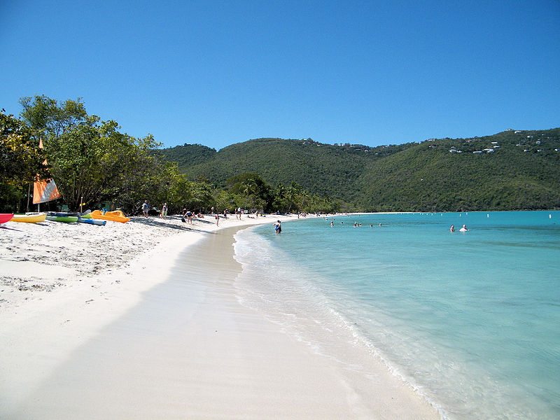 Megans Bay Saint Thomas Island